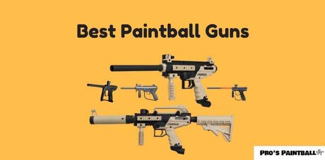 Best Paintball Guns Image