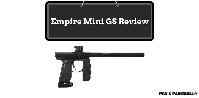 Empire Mini GS Paintball Marker Review Image
