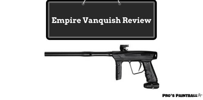 Empire Vanquish Paintball Marker Review Image