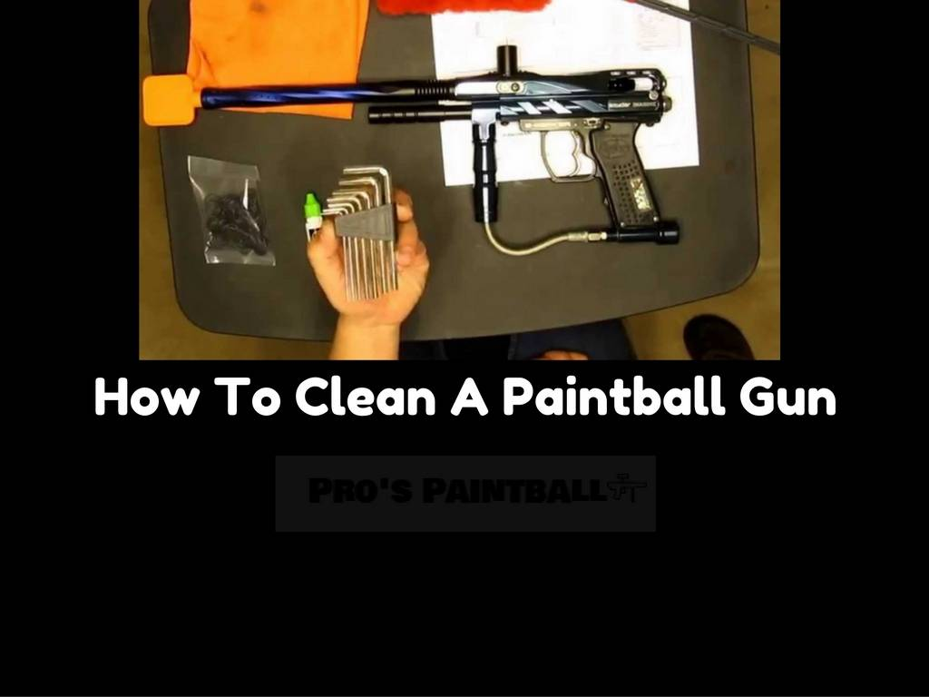 Image of Cleaning A Paintball Gun