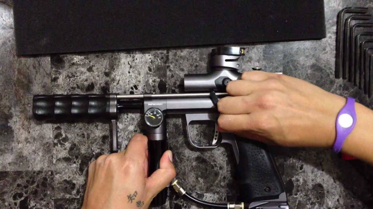 Empire sniper gun disassembling