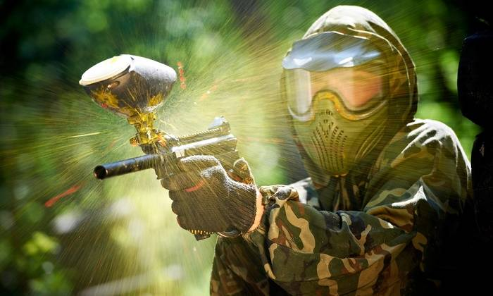 Paintball for health