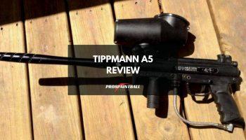 Tippmann A5 Paintball Gun Review (Thumbnail)