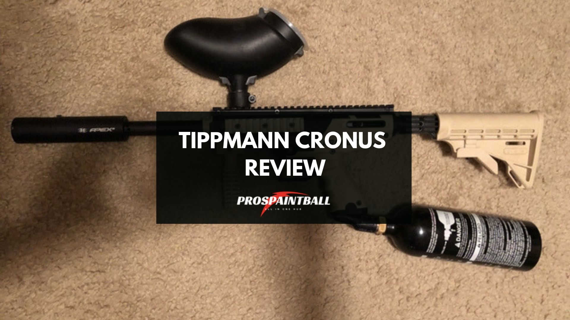 Tippmann Cronus Review-