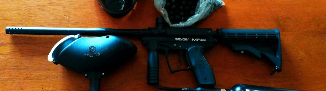 Spyder MR100 Pro Paintball Gun