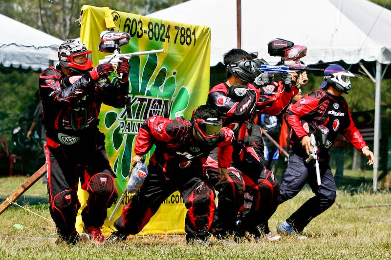 Paintball as a sport globally image