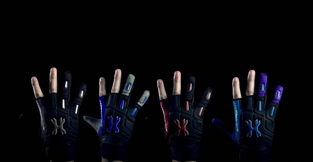 Paintball Two Finger Gloves