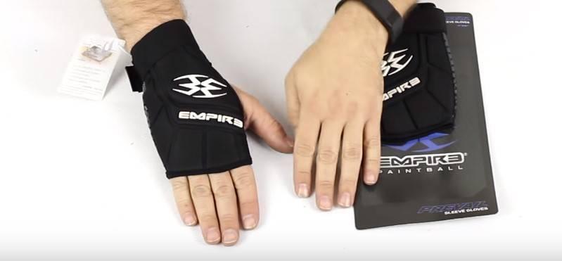 Sleeve Paintball Gloves
