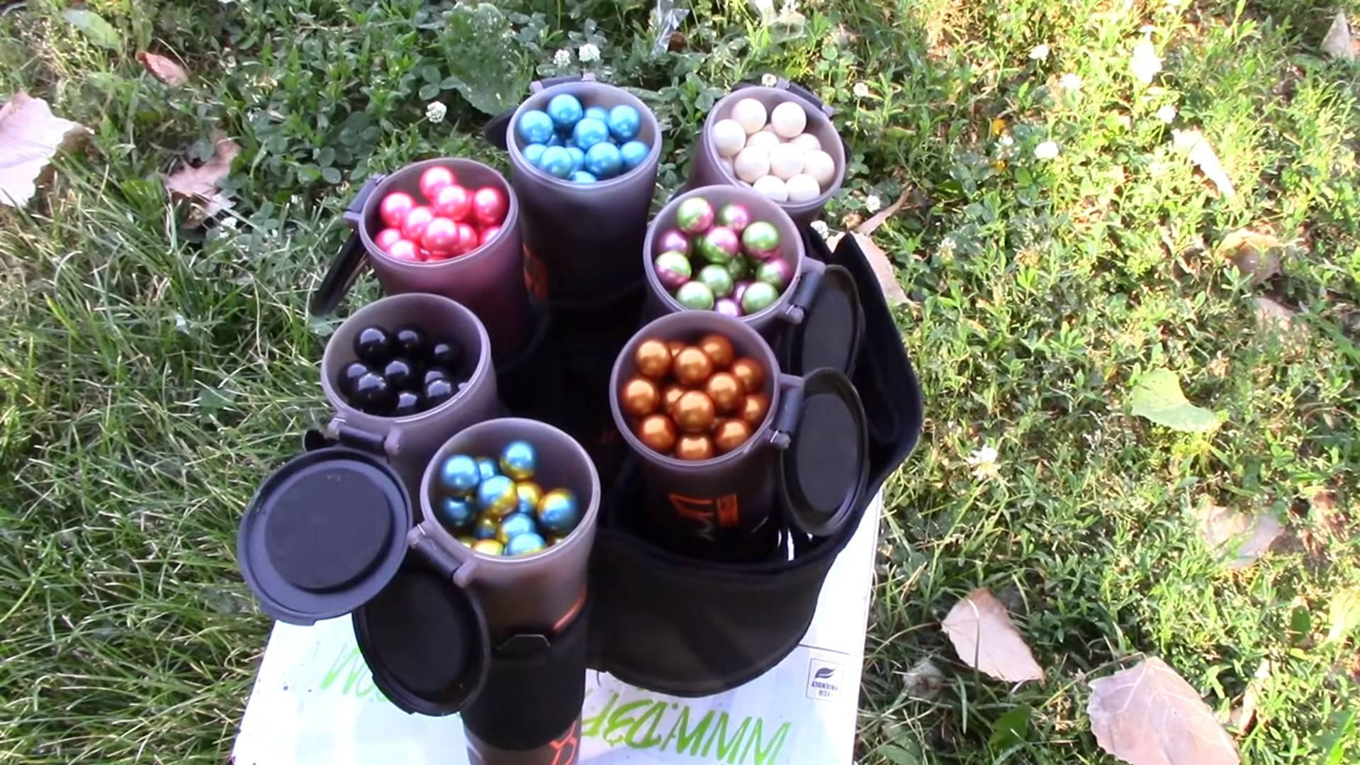 Image Paintballs in Bottles