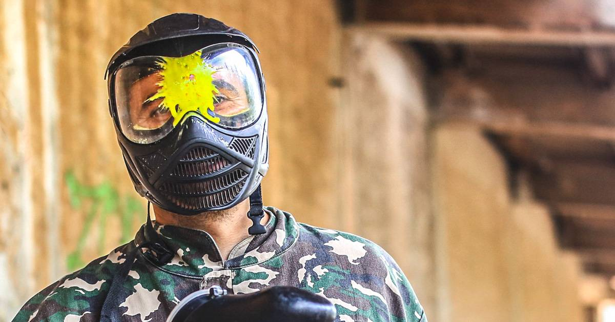 Image of a Paintball Mask