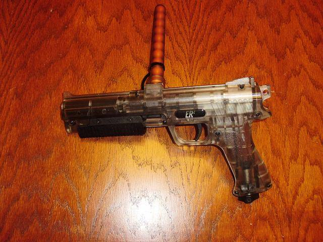 Pump Pistol on Desk
