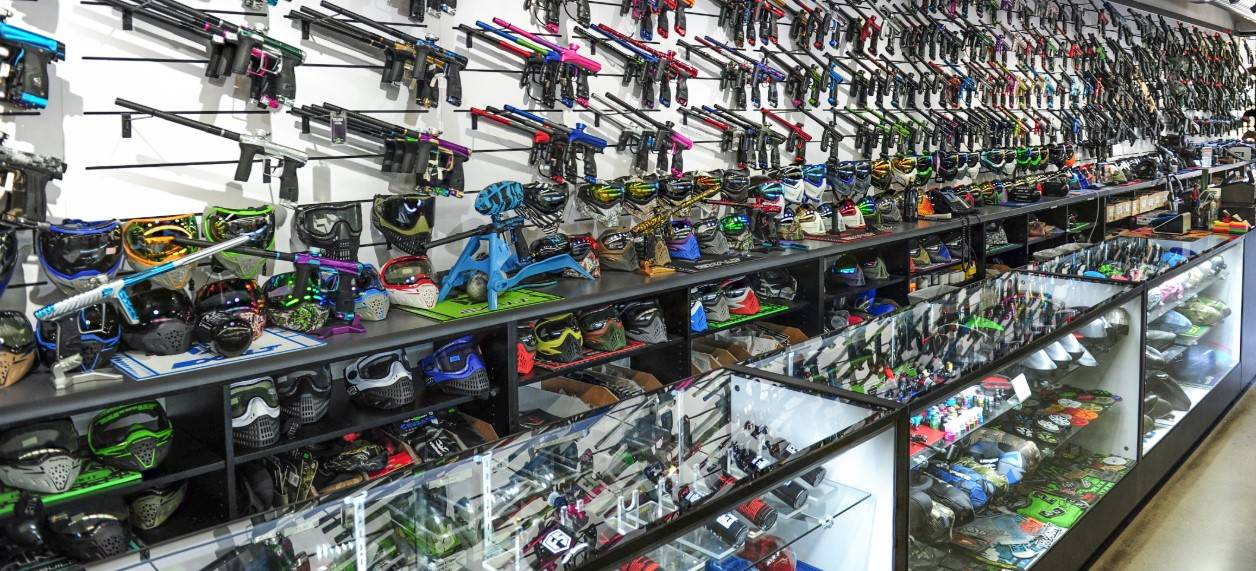 image of Paintball store